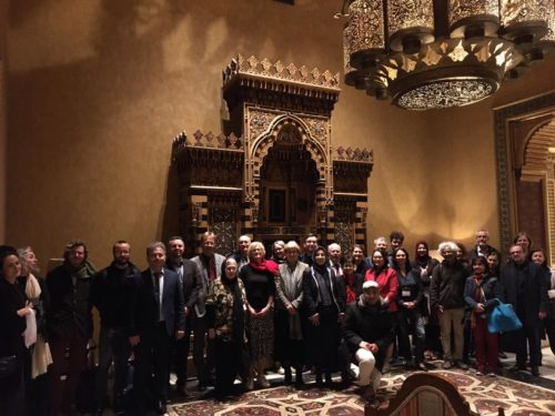 Group picture at Palace Al Gezirah (Cairo Marriott Hotel)